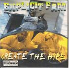 Explicit Fam - Create The Hype Vol. 1 * Sacramento * Young Joker * MEGA RARE *