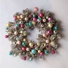 Glitterville Glass Reflector Ball Wreath Vintage Christmas 18 Anthropologie