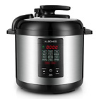 ALBOHES Electric Pressure Cooker, Programmable Pressure Cooker 5 Quarts 12-in-1