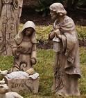 Gifted Living Mary Joseph and Baby Jesus Large Nativity Trio Outdoor Statue