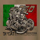 Vintage Look Ducati 750SS round case engine cutaway Motorcycle T-Shirt Racer