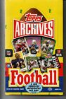 2013 Topps Archives 2013 Football Trading Cards Factory Sealed HOBBY box 2 auto