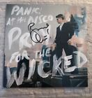 Panic At The Disco CD Pray For The Wicked AUTOGRAPHED Art Card SIGNED Beckett