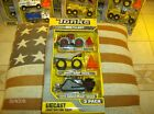 Tonka Diecast 3 pack70th AnniversaryConstruction Crew LoaderDump Truck