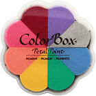 ColorBox Pigment Petal Point Ink Pad 8 Colors Enchantment 18080