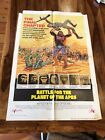 Battle For The Planet Of The Apes 1973 One Sheet Movie Poster Roddy McDowell