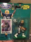2000 TROY AIKMAN KENNER STARTING LINEUP FOOTBALL TOY & CARD DALLAS COWBOYS