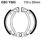 EBC Organic Brake Shoes and Spring Kit Y503 for Keeway Matrix 50 06-12