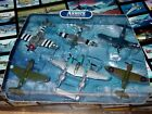 NEW Franklin Mint Armour die cast 6 plane set WWII Fighters 1 100 scale B11C359