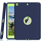 For Apple iPad 6th Generation 97 Tough Rubber Heavy Shockproof Hard Case Cover