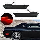 Pair Rear 2PCS Smoke LED Side Marker Lights 2008-2014 Dodge Challenger RT SRT8