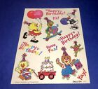 Birthday Suzys Zoo Scrapbooking Stickers