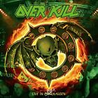 OVERKILL Live In Overhausen JAPAN 2CD The Bronx Casket Co. Lubricunts NY Thrash