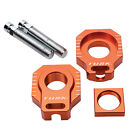 Racing Axle Block Orange for KTM 400 EXC 4 Stroke 2005-2007