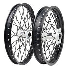 Impact Complete Front/Rear Wheel Kit 1.60 x 21/2.15 x 19 Black Rim/Black Spoke/W