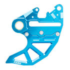 Rear Brake Caliper Support w/Brake Disc Guard Blue for Husqvarna TE 125 2014-201