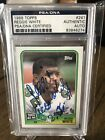 1988 Topps Psa Dna Certified Authentic Auto Reggie White Eagles HOF