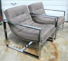 Pair Milo Baughman Chairs