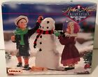 Lemax Memory Makers Collection OUR SNOWMAN 77014 Vintage 1997 Original Box