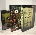 Set of 5 Michael Gruber Novels Fine Fine Signed