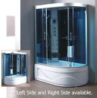 Steam Shower Room massage Jets BLUETOOTHSteam SaunaOzone USA Warranty