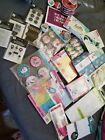 Huge scrapbooking lot Stickers stamps paper notebooks and more
