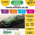 2016 GREEN MERCEDES A200 D 21 AMG LINE PREMIUM DIESEL AUTO CAR FINANCE FR 71PW