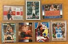 LOT OF 7 NBA AUTOGRAPH JERSEY CARDS Tim Duncan, Marbury and more
