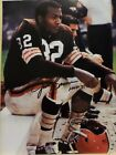 CLEVELAND BROWNS JIM BROWN SIGNED AUTOGRAPHED 11 X 14 PHOTO WITH COA!!!