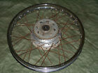 73 HONDA CL175 ,CB175 -Rear Wheel & 38 Tooth Sprocket