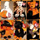 Ty Halloween Beanie Babies Carvers / Fraidy / Ghoul / Haunted / Ratzo / Witchy