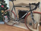 Excellent Condition Retro Look Carbon Road Bike Frame 59cm