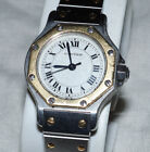 Cartier Santos Octagon Ladies (25mm) Automatic Watch AS IS for Part or Repair