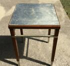 Bill Sofield for Baker Accent Table with Silver Leaf Top