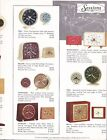 Sessions Clock Brochure Catalog circa 1960 6 page fold out Alarm Clocks Mantle