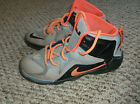 Lebron 12 sneakers size 25 youth
