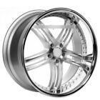 For 5 series 22 Staggered XIX Wheels X15 Silver Machine W SS Lip Popular Rims
