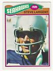 Top 10 Steve Largent Football Cards 24