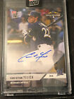 2018 Topps NOW PS-91A Christian Yelich Milwaukee Brewers On-Card Autograph 42 99