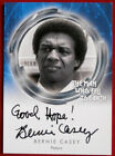 DAVID BOWIE, The Man Who Fell To Earth, BERNIE CASEY, Variant A, Autograph Card