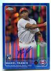 2015 Topps Chrome Baseball Cards 11