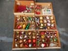 Huge lot Christmas ornaments decorations nativity scene wreaths trees