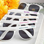 40 200 Personalized Trendy White Sunglasses Beach Wedding Party Favors