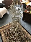 Vintage Shabby Chic Ornate Filigree Standing Dress Form Or Mannequin Girls Room