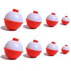 20PCS Fishing Bobbers Snap 1 2 ABS Float Bobbers Push Button Round Buoy Floats