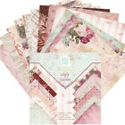 24Pcs Background Paper with Single Side Pattern For DIY Album Scrapbook Cards 6