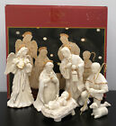 Lenox Innocence Nativity Holy Family Angel Shepherded Lamb 6 Piece Set Mint Box