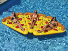 Pizza Slice Inflatable Float Fun Beach Lounger Swimming Pool Air Tubes Water Fun