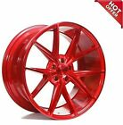 Set4 New 20 Staggered Niche Wheels M186 Misano Gloss Red Popular Rims