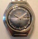 Vintage Seiko 5 Automatic Stainless Steel 21 Jewel Men's Watch